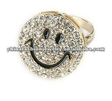 Wholesale Cute Loving Smiling Face Ring