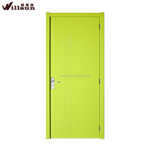 Modern fashion plywood door skin lowes with hotel door lock for room door