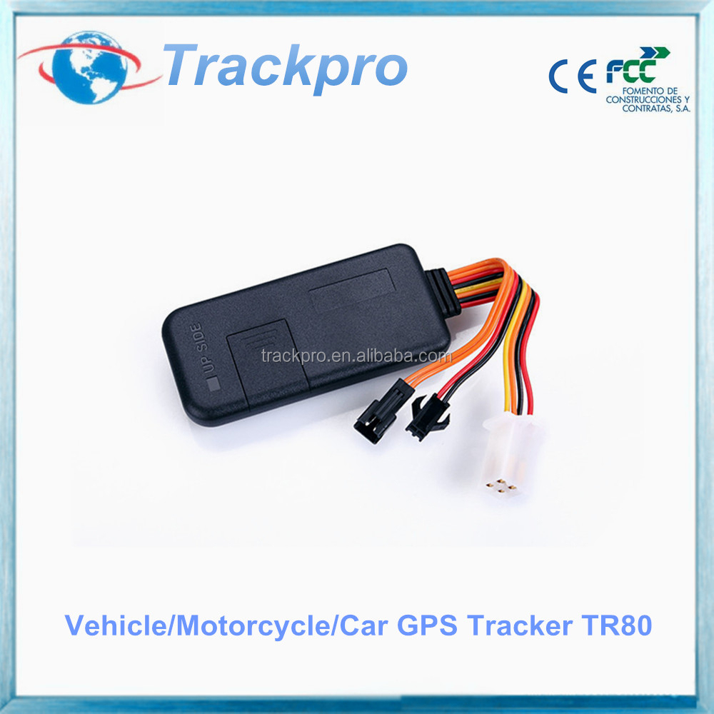 Motorcycle gps tracker, gps sms gprs tracker vehicle tracking system