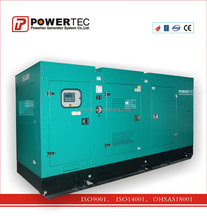 powertec Diesel Gensets powered by Cummins power utilization 500kW