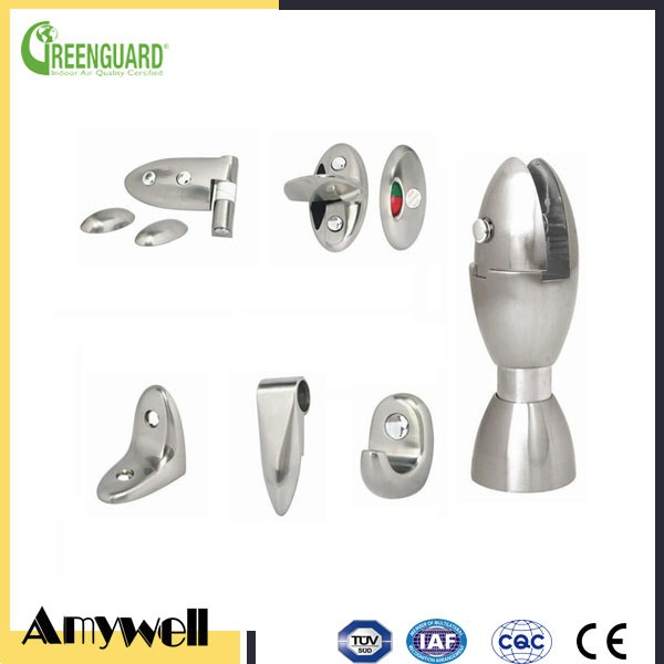 Amywell Wholesale customized high quality 304 stainless steel Toilet cubicle hardware