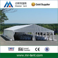 Large aluminum frame tent easy to install