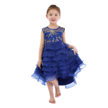 Hot Sale Wholesale Boutique Children Clothing Baby Girl Party Wear Dresses Kids Summer Dresses for Girls
