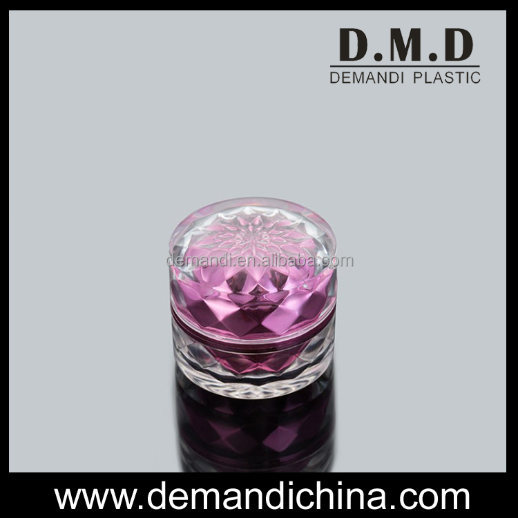 New design 10g 15gram plastic acrylic small empty cosmetic container