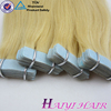 Full cuticle double drawn high quality grade 7a Tape Wholesale Hair Extensions China
