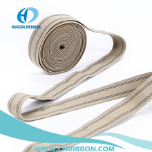 Factory supply 100% polyester custom colored woven webbing elastic band
