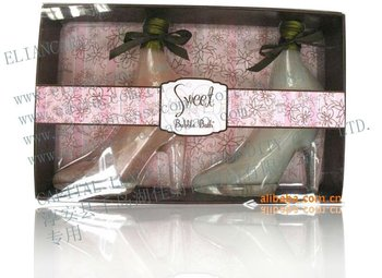 SWEET BUBBLE BATH SHOE SET