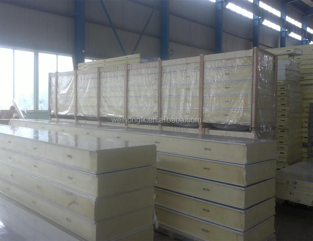 Cheapest Pre-fabricated Warehouse / Cold Room /Freezer EPS PU Sandwich Panel