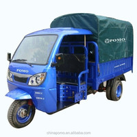 CKD Packing Strong and Durable Tyres 5 Wheel Cargo Tricycle Chongqing Heavy Duty Cargo Truck 250CC