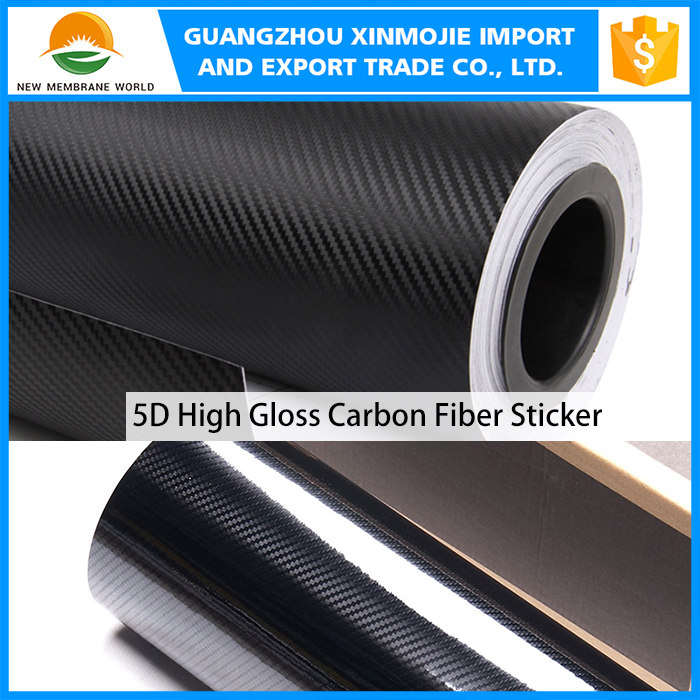 Good Quality Car Wrapping Film 3D /4D/5D Carbon Fiber Vinyl Sticker/car decoration film