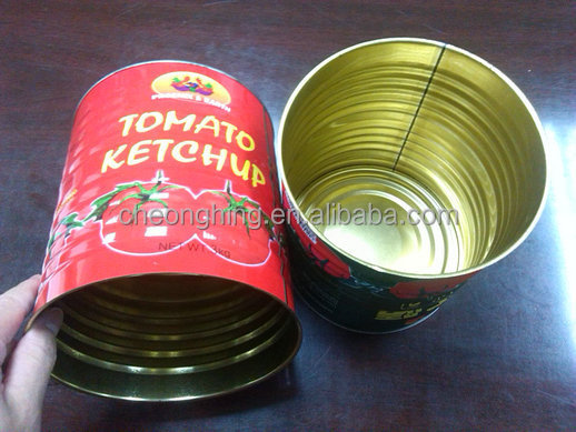 Large (3L) food Weld tin can
