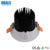 China IP20 Round Adjustable 9W 12W 14W 21W Dimmable Recessed COB Ceiling Spot Down Lamp LED Light Spotlight