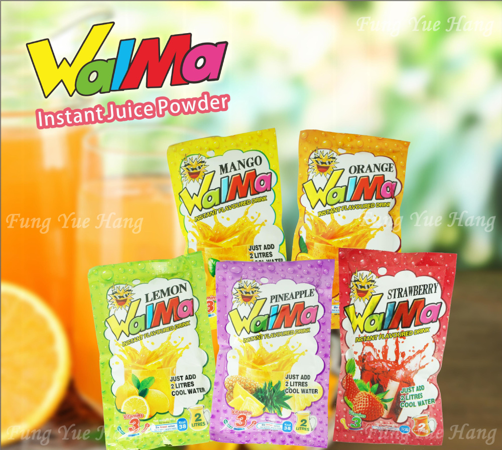 60g instant orange juice powder juice manfacturers