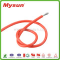 UL 3254 fiberglass braided silicone rubber construction material wire