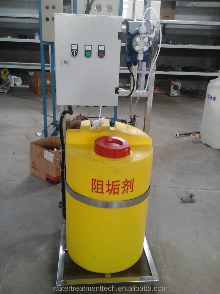 Anti-scalant dosing system for Pipe and boiler anti-fouling