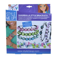 Make your own Shamballa Bracelet for girls handmade jewelry