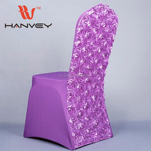 High quality cheap wedding elastic disposable spandex folding arm round back chair cover