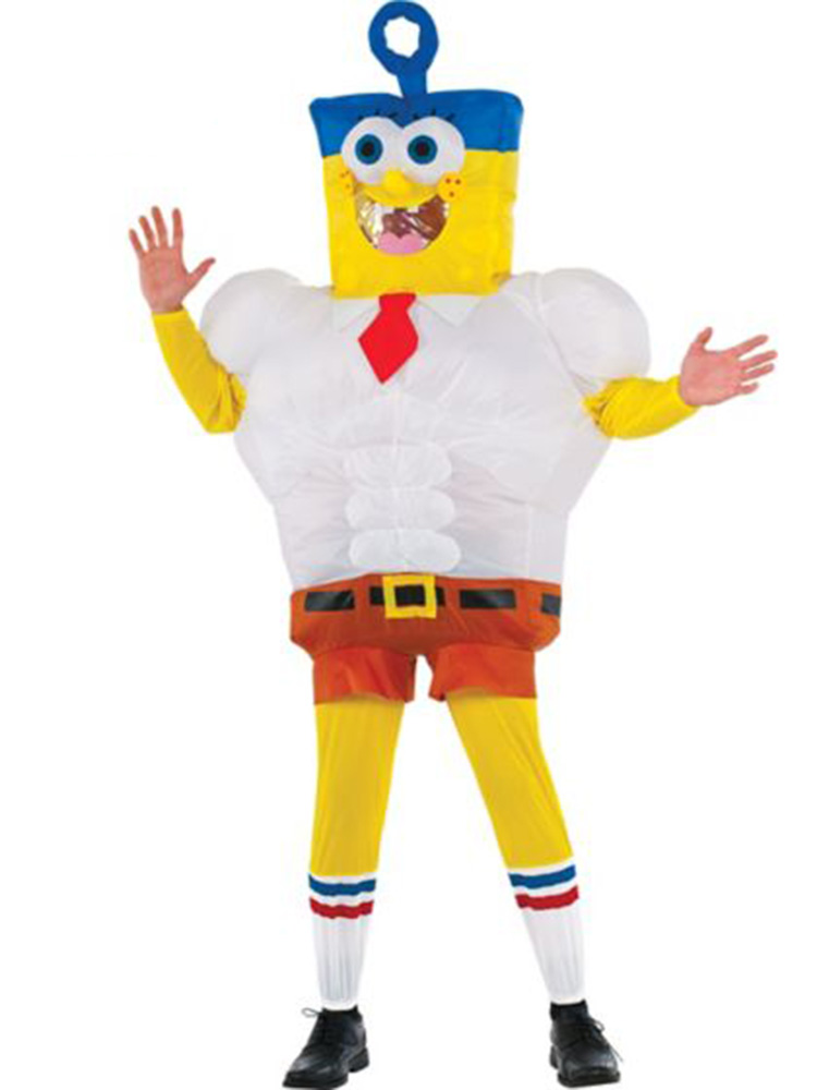 Inflatable SpongeBob Movie Men's Costume