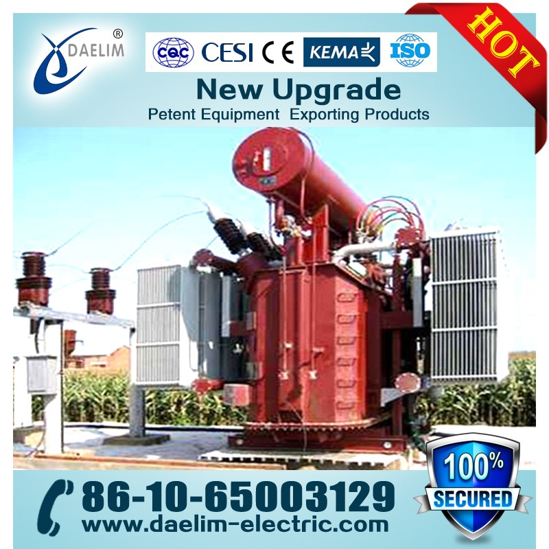 50mva 132kv Power Transformers with Copper Winding from Daelim