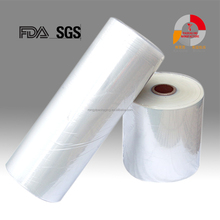POF clear heat shrink plastic protective roll film