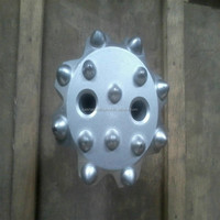 coal mining use rock drilling R25 and R32 spherical crown button bits from China supplier