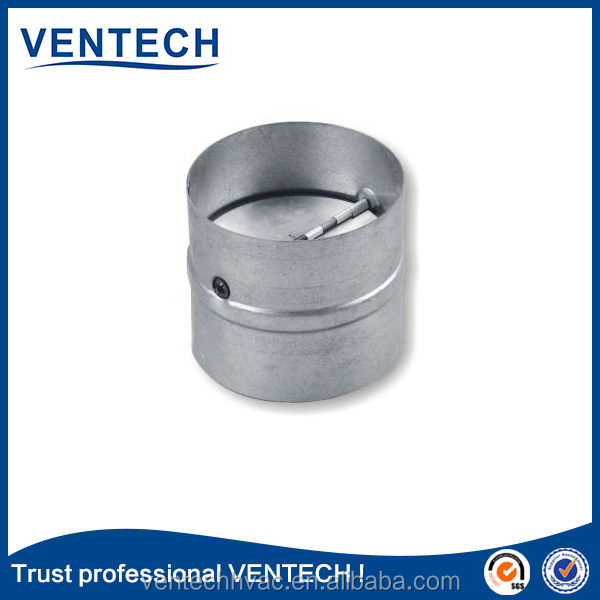 High brand name ventilation round air flow volume control damper in HVAC systems