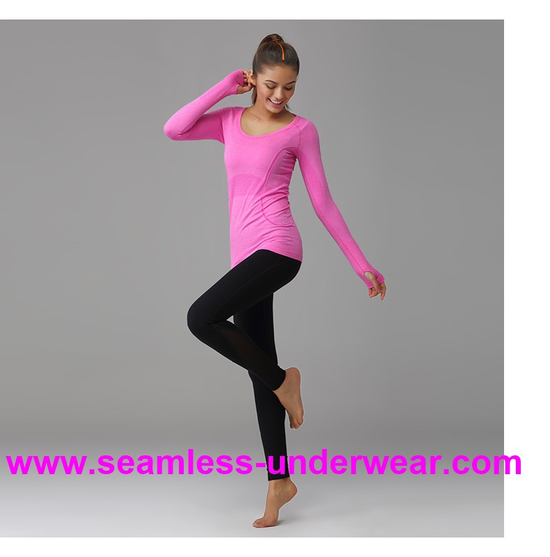 Top Quality Seamless Yoga T Shirts, Running T Shirt for Running, Gym Shirts for Women