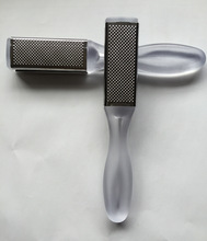 Easy using file type foot file metal foot callus remover for hard dead skin