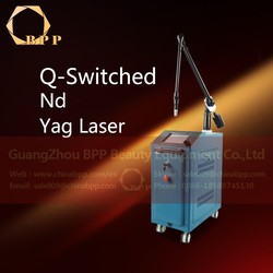 The new q switch nd yag laser tattoo removal skin rejuvenation device