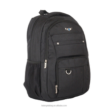 2017 Beiergelai hot sale high quality black laptop backpack business bag for business trap travel