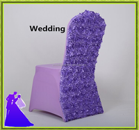 Fancy colorful spandex chair cover for wedding factory price