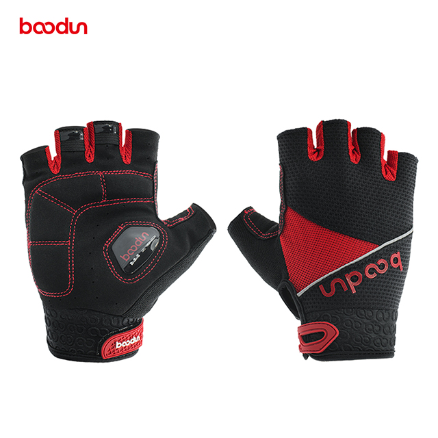 Cycling Gloves gel Bicycle Gloves Breathable with <strong>Microfiber</strong> Leather, Anti-slip <strong>Shock</strong>-absorbing