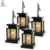 Candle Solar Powered Fence Light Outdoor Garden Waterproof Flame Lamp Flickering Garden Light
