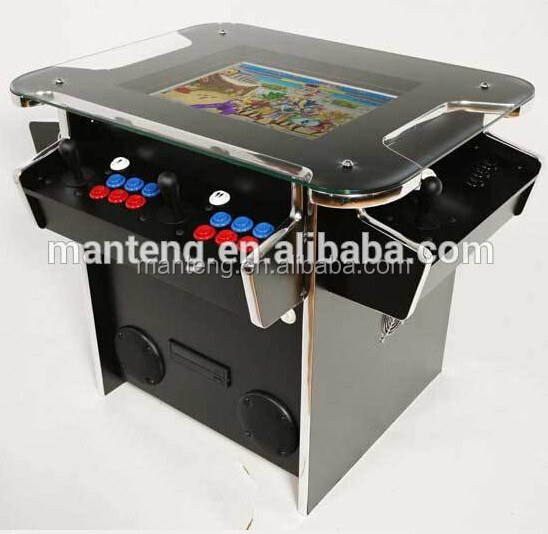 1000 in 1 coin-opearted machine 3 Sides COCKTAIL Arcade Game Machine