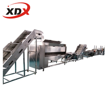 XDX 500kg/h full automatic frozen french fries machinery for potato french fries production line