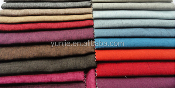 100% Polyester Linen Look Fabric/Linen Fabric Wholesale