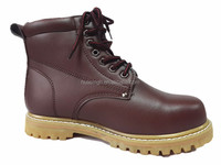 high quality heat resistant sole CE steel work welt safety boots UK popular 2016