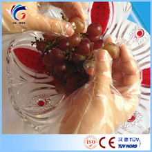 Professional Technical Food handing service pe glove ld with high quality