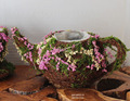 Tea pot Planter moss and vine container fairy garden supply