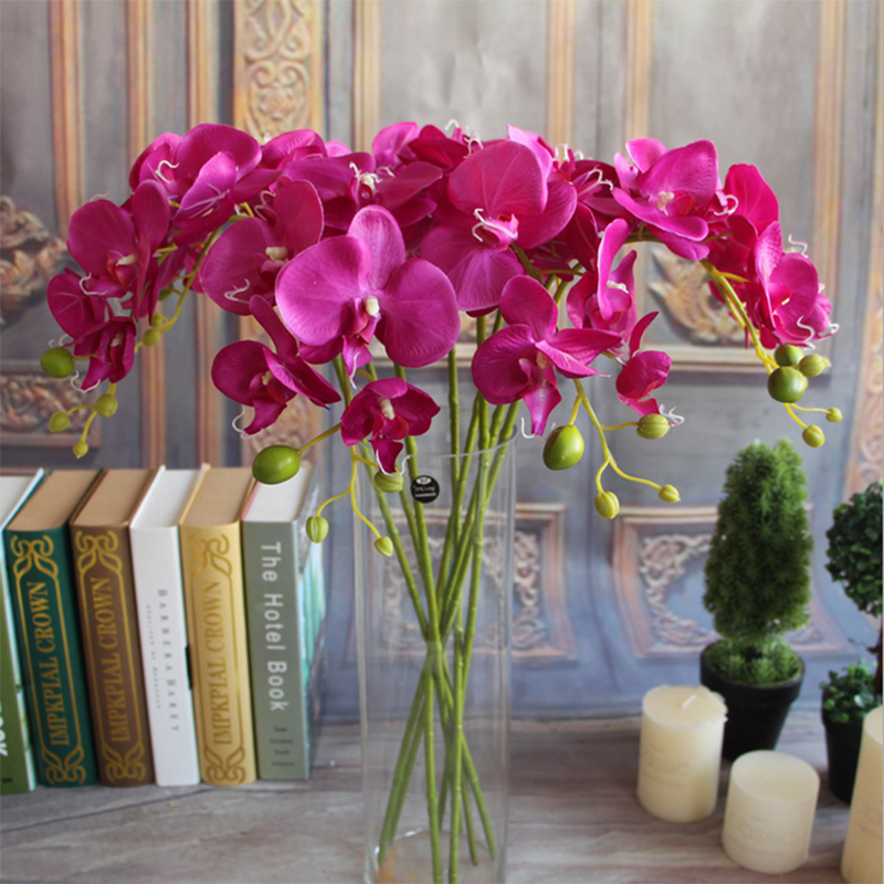 Орхидеи с другими цветами