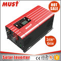 MUST brand 50A PWM solar charger 3000W 24V solar energy system inverter for home use