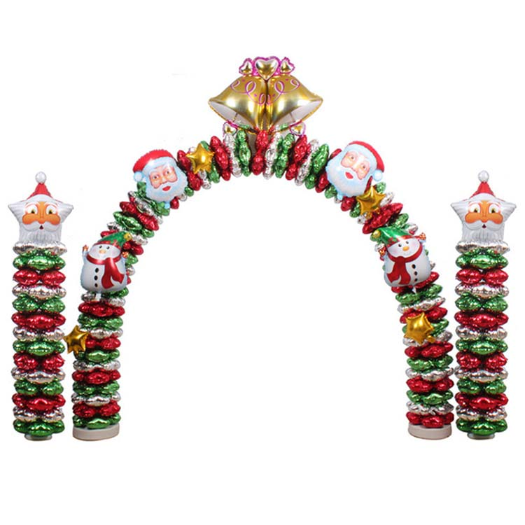 Wholesale Promotional Inflatable Christmas Balloon Arch