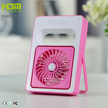 Factory Price Pink Handheld Battery Operated Student Mini Fans