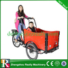 2015 hot sale three wheel rickshaw electric cargo bicycle / trike / bike / tricycle for sale with CE
