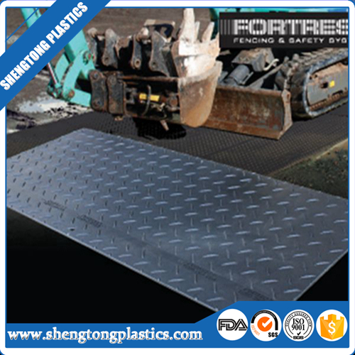 High friction-resistant uhmwpe ground mat outdoor