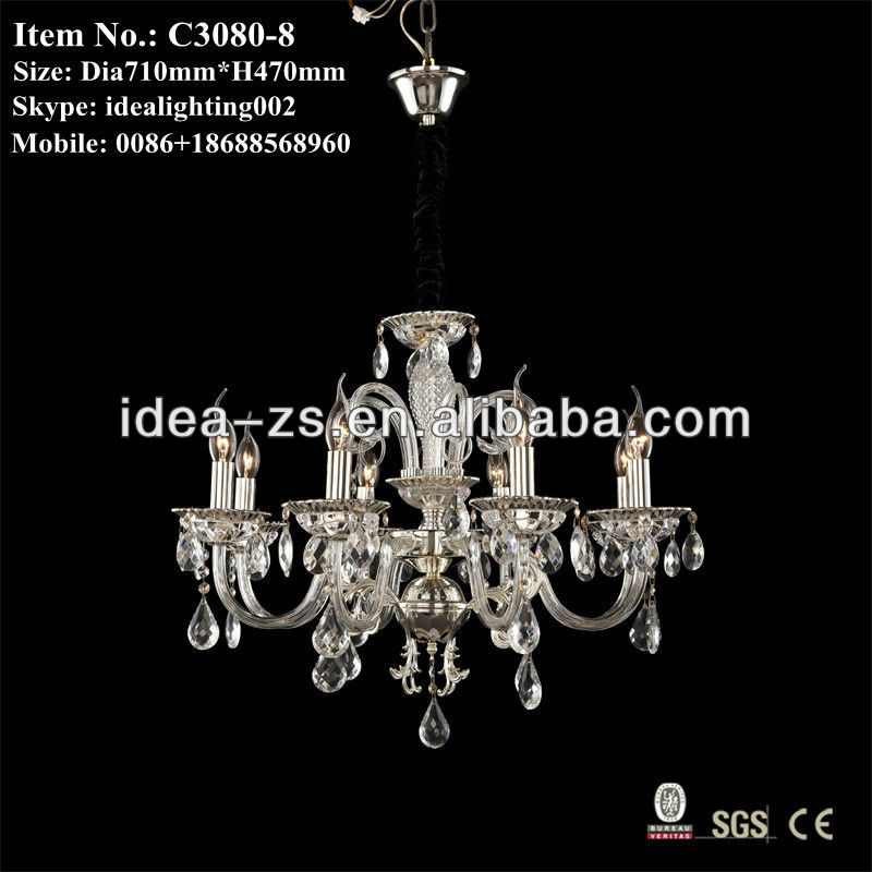 morden crystal pendant lamp, decorative cystal chandelier light