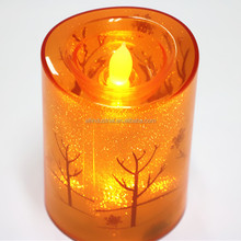 Party Table Decoration LED candle Glass for Candle Best Selling Home Show Product