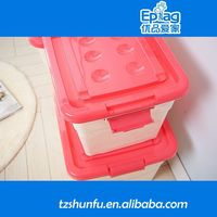 2015 clamshell containers,large flat plastic containers with handle,small plastic box for clam shell