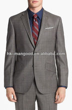 Plaid Two Button Man Suit 2012