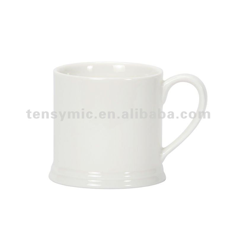 Special offer cheap plain white coffee mug promotion